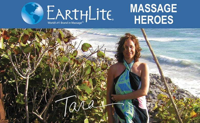 Earthlite® Massage Heroes – Tara is making a better world through healing