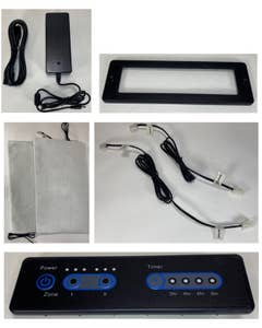 Dual Zone Warmer 7pc