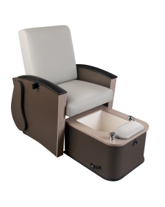 Mystia™ Manicure / Pedicure Chair with Plumbed Footbath New