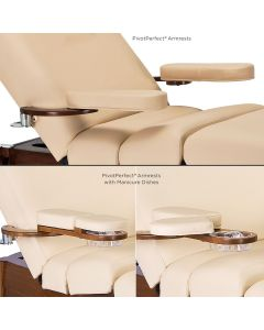 Stationary Massage Table PivotPerfect™ Side Arms