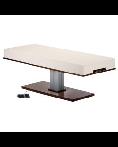 LEC Pedestal Flat Massage Top Electric Lift Table