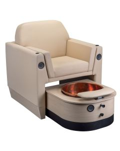 Wilshire M™ Pedicure Chair with Manual Pedi Tub