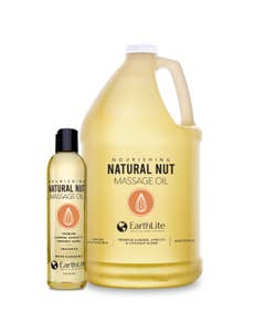Natural Nut Massage Oil