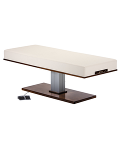 LEC Pedestal Flat Massage Top Electric Lift Table